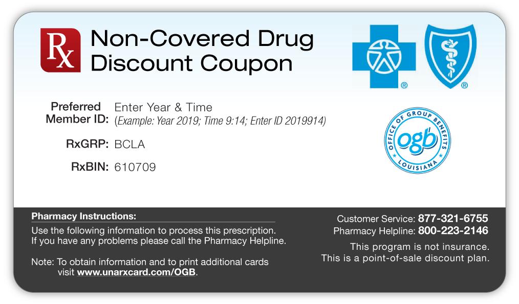 Discount coupons for prescription medicine